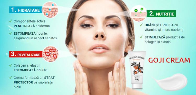 Cum funcționează crema anti-rid de Goji Cream