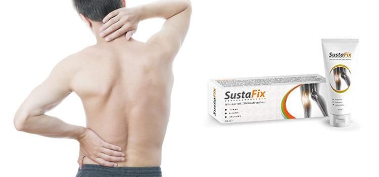 Sustafix conține o compoziție naturală, care asigură cea mai bună acțiune