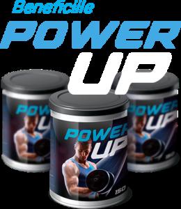 PowerUp Premiumcomanda - natural-supliment alimentar pentru masa musculara