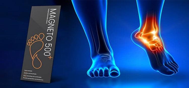 Încercați Magneto 500 + pentru a scăpa efectiv de durerea piciorului