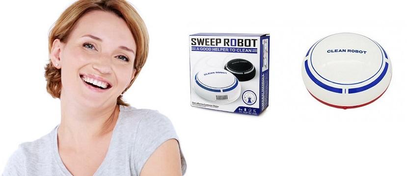 Încercați Sweeprobot, aspirarea rapidă și eficientă a întregului apartament