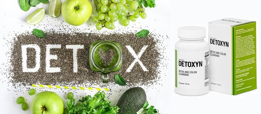 Detoxyn are numai ingrediente naturale.